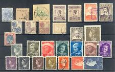 CURACAO- 28 STAMPS -USED -- VF