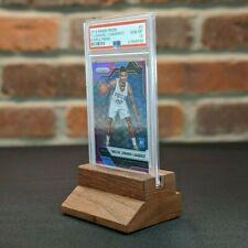 Premium Trading/Sports Card Display (solid wood) for PSA graded holder/slab