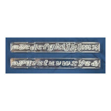 Windsor Cake Craft Script Lowercase Letters Clickstix Cutter