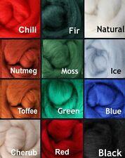 WINTER Palette Wool Roving Fiber 3 ozs./84 grams Needle Felting Spinning Soap