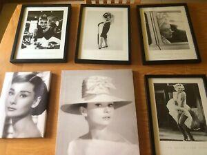 Audrey Hepburn/Marilyn Monroe Prints/Canvas
