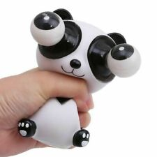 Lovely Panda Squeeze Out Big Eyes Relieve Stress Anxiety Squeeze Toy Keychain
