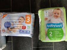 3 Packungen  Baby  Windel  Gr. 2/3/4