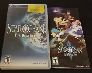 **NO GAME** MANUAL AND CASE ONLY!!!Star Ocean: First Departure (Sony PSP, 2008)