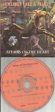 EMERSON LAKE & PALMER Affairs of the heart PROMO DJ CD single 1992 USA and MINT