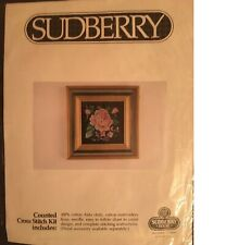 Sealed Sudberry House 5x5 Oak Box//Designed to display needlework,quilting,photos