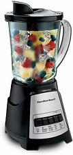 Hamilton Beach Power Elite Blender with 12 Functions for Puree, Ice Crush, Shake