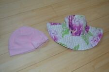 NEW BABY GAP & The Childrens Place baby girl infant hats pink Size 0-6 Months