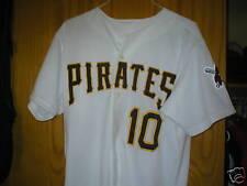 1999 ABRAHAM NUNEZ Pirates game used worn home jersey