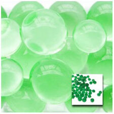 Green Vase Filler Beads 4oz Bag Makes 3 Gallons - Water Storing Gel