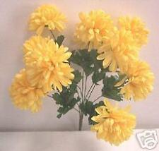 Artificial silk flowers & plant Chrysanthemum Bush F11