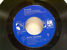 "JANET JACKSON ""ESCAPADE / INSTRUMENTAL"" 45"