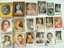 12400 Mac Donald Jeanette: 18x Trading card original Sammelbilder German