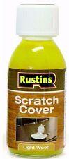 Rustins Scratch Cover for Light Wood - 125ml Bees / Carnauba Wax Bottle