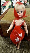 "DOLL Pinafore Apron Scarf fits 1/6 BJD YOSD Lissy 10"" to 13"" Dolls"