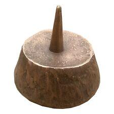 Bronze Leuchter 6,5 cm Durchmesser 3 cm hoch Bronze candle holder