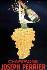 J Stall Joseph Perrier Champagne Art Print Mural Poster 36x54 inch