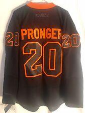Reebok Premier NHL Jersey PHILADELPHIA Flyers Pronger Black Ice sz L