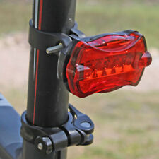 Super Bright Waterproof LED Bike Rear Tail Light RED Lamp 5 Mode Flashing