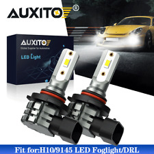 2X AUXITO 9140 9145 LED Fog Driving Light 6000K Super Bright Bulbs DRL HID White