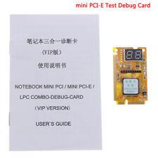 More details for 1pcs mini pci-e pc laptop diagnostic post test debug card + lpc cab y bw