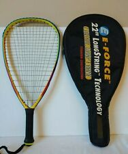 "E-FORCE BEDLAM 195g CARBON FIBRE 22"" LONG STRING TECHNOLOGY Racquetball Racquet"