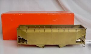 Precision Scale #15010 Brass O Gauge 55 Ton Steel Hopper Train Car - 83547