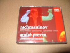 Sergey Rachmaninov - : Symphonies Nos. 1-3; The Isle of the Dead; Symphonic 3 cd