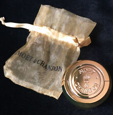 MOET CHANDON CHAMPAGNE BOTTLE STOPPER BOUCHON GOLD TONE NEW UNUSED IN BAG