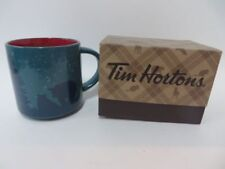Tim Hortons 2017 Mug Bear Limited Edition Collectible Blue Red