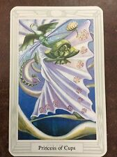 Aleister Crowley Thoth Tarot Small Deck Princess Of Cups INDIVIDUAL CARD Magik