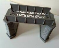 Model Railway Girder Bridge With Stone Effect End Supports 00 Gauge Single Track