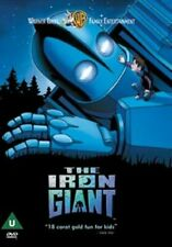 The Iron Giant 1999 Warner Bros Animated Family Classic UK DVD in Snapper Case