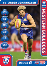 2018 AFL TEAMCOACH FULL SET OF COMMONS WESTERN BULLDOGS 13 CARDS 23/03/2018