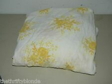Vintage Martex Luxor Golden Flower Floral Fitted Twin Sheet 14996
