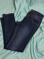 Bamboo Skinny Jeans, Dark Wash, Women's size 5