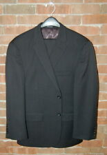 Mens 42 S Pronto Uomo Modern Fit Charcoal Grey Wool Suit Flat 37x28