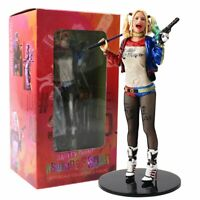 18cm Suicide Squad Harley Quinn With Gun And Hammer Action Figure Model Toys