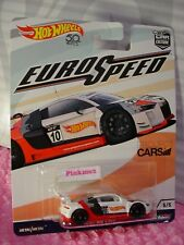 AUDI R8 LMS 5/5☆white/red;PROJECT CARS☆2018 Hot Wheels CAR CULTURE EURO SPEED
