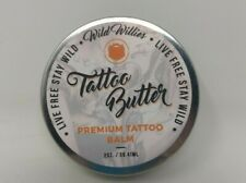 Wild Willies Tattoo Butter-Skin numbing, Soothing and Healing Ointment, 2oz