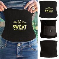 Waist Trimmer Exercise Wrap Belt Burn Fat Sweat Weight Loss Body Shaper WXGR