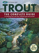 TROUT Complete Guide to Catching Trout with Flies Artificial Lures Bait Book NEW