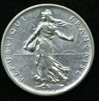 1960 FRANCE 5 FRANCS SILVER COIN - UNCIRCULATED CONDITION COIN