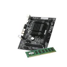 SCHEDA MADRE Q1900M - HDMI DVI + CPU PROCESSORE INTEL QUAD CORE + RAM DDR3 4GB