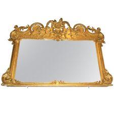 American Mantel Mirror, Gilt, Rococo Revival
