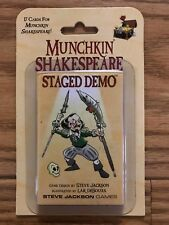 Munchkin Shakespeare: Staged Demo Booster Pack