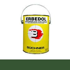Büchner Erbedol Fendt grün Lack Farbe Kunstharzlack PA6350 2500ml 13,18€/L