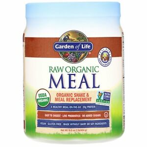 RAW Organic Meal, Shake & Meal Replacement, Vanilla Spiced Chai, 16 oz (454 g)