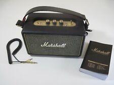 Marshall Kilburn II Portable Black Bluetooth Speaker (1002634) - EUC!  READ