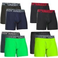 """ Pack of 2 "" Under Armour 2017 UA Mens 6"" Original Boxer Jock Briefs Underwear"